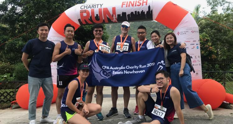 Team Newhaven Completed 10K Charity Run 2019!